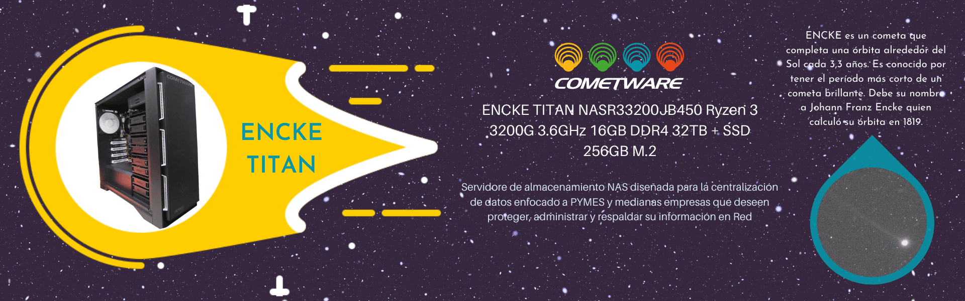 Cometware Encke Titan