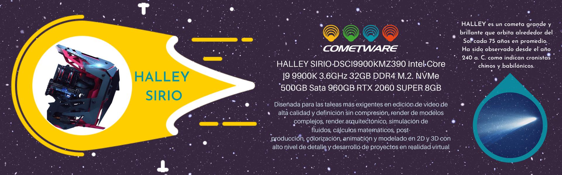 Cometware Halley Sirio