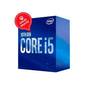 Intel Core i5 10400 2.9 GHz (4.3 GHz Turbo) 6 Core Intel UHD Grafico 630 BX8070110400 Comet Lake Procesador FRONTAL GRATIS