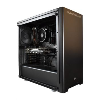 ENSOR Helix WSCI97900XMX299 Core I9 7900X 3.3GHz 32GB DDR4 1TB+ SSD 240GB Quadro P2000 5GB diagonal izquierda sin tapa