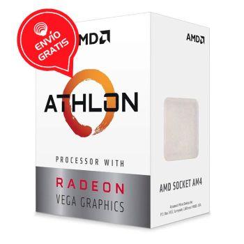 AMD ATHLON 3000 3.5GHZ Dual Core Video Radeon Vega 3 YD3000C6FHBOX Procesador empaque