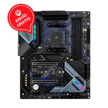 ASRock B550 EXTREME4 AM4 AMD 128GB RGB ATX Board frontal