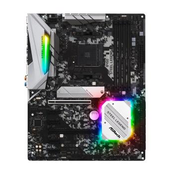 ASROCK B450 STEEL LEGEND AM4 AMD Atx Board frontal