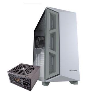 COUGAR DARK BLADER X5 BLANCA 600W BRONCE 1*120MM Vidrio Lateral 385UM30-0001 ATX Torre con fuente