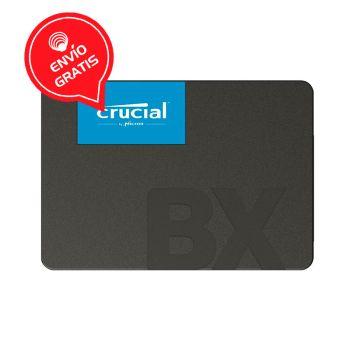 """Crucial 480GB BX500 SATA III 2.5"""" CT480BX500SSD1 Disco Duro Gratis"""