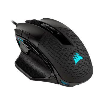 Corsair NIGHTSWORD RGB Negro CH-9306011-NA Mouse Gaming diagonal