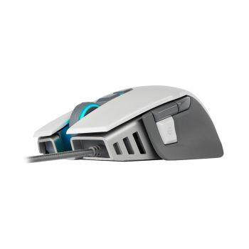 CORSAIR M65 RGB ELITE AJUSTABLE FPS Blanco CH-9309011-NA Mouse Gaming diagonal
