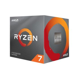 AMD Ryzen 7 3700X  3.6 GHz (4.4 GHz Turbo)  8 Core 100-100000071BOX Procesador diagonal