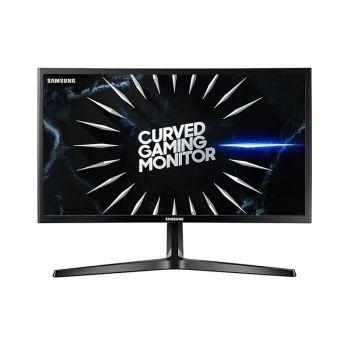 "Samsung 24"" LC24RG50FQLXZL FHD VA HDMI DP 144Hz 4ms CURVO Monitor Gamer frontal"