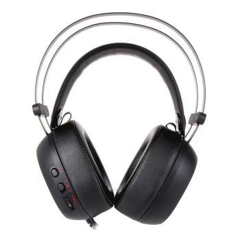 Thermaltake SHOCK Pro RGB Audifonos 7.1 HT-SHK-DIECBK-25 Gamer frontal