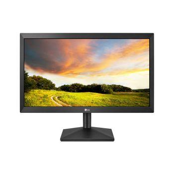 LG 19.5 20MK400H-B HD TN HDMI D-Sub 60HZ 2ms Monitor frontal