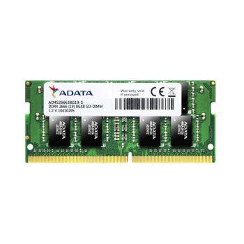 Adata Premier 8GB (1 x 8GB) DDR4 2666MHz SO-DIMM AD4S266638G19-S Memoria para Portatil frontal