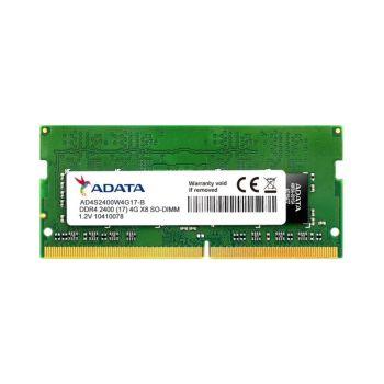 Adata Premier 4GB (1 x 4GB) DDR4 2400MHz SO-DIMM Memoria AD4S2400W4G17-S Memoria para Portatil FRONTAL