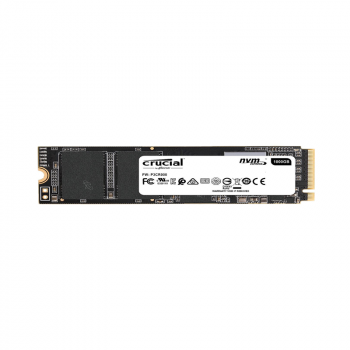 Crucial 500GB P1 Nvme PCIe M.2 CT500P1SSD8 Disco Solido frontal
