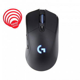 Logitech G703 Hero RGB LIGHTSPEED Inalambrico 910-005638 Mouse Gamer frontal