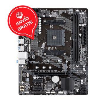 GIGABYTE A320 S2H AM4 MATX AMD 32GB Board Gratis