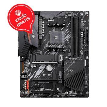 GIGABYTE B550 AORUS ELITE AM4 AMD ATX RGB BOARD frontal