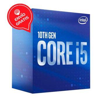 Intel Core i5 10500 3.1GHz (4.5GHz Turbo) 6 Core Intel UHD Grafico 630 BX8070110500 Comet Lake Procesador diagonal