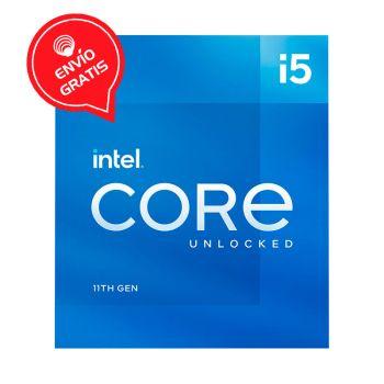 Intel Core i5-11500 2.7GHz (4.4GHz Turbo)  6 Core UHD Graphics 750 BX8070811500 Rocket Lake Procesador Gratis