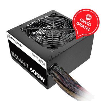 Thermaltake Smart 600W 80 Plus White PS-SPD-0600NPCWUS-W Fuente de Poder Gratis