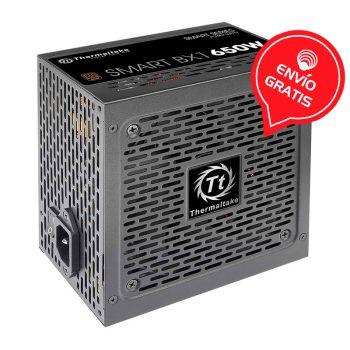 THERMALTAKE SMART BX1 650W 80 PLUS BRONZE PS-SPD-0650NNFABU-1 Fuente de Poder Gratis