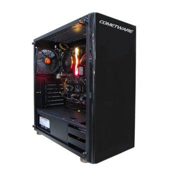 ENSOR Aguila WSXE3106MC621Intel Xeon 3106 1.7GHz 32GB DDR4 2TB  + M.2. 500GB Quadro P4000 8GB diagonal izquierda con tapa