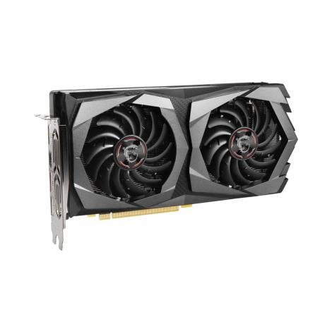 MSI GeForce GTX 1650 SUPER GAMING X 4GB Tarjeta de Video Dual Fan Diagonal
