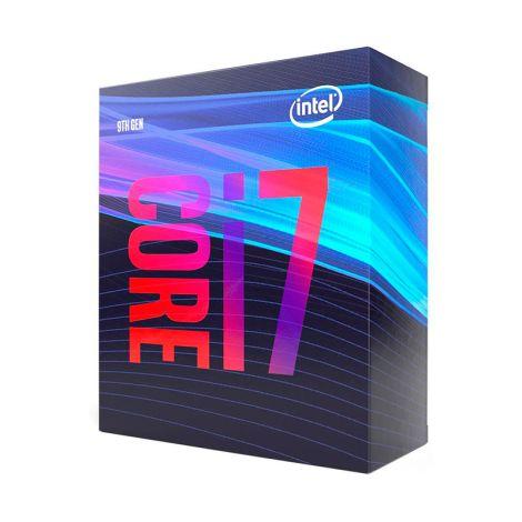 Intel Core i7 9700 8 Core 3.0 GHz (4.7 GHz Turbo) BX80684I79700 Procesador diagonal