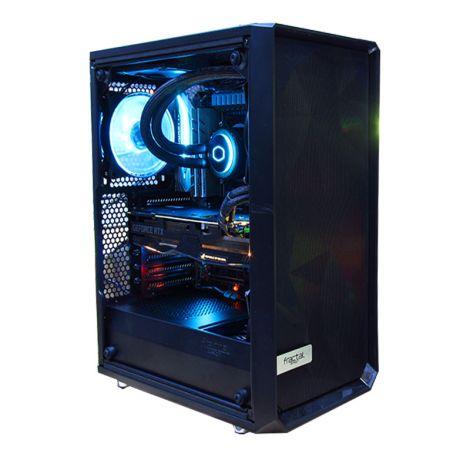 HALLEY SIRIO DSCI99960XMX299 Core I9 9960X 3.1GHz 32GB DDR4 SSD 256GB M.2 RTX 2060 8GB SUPER diagonal