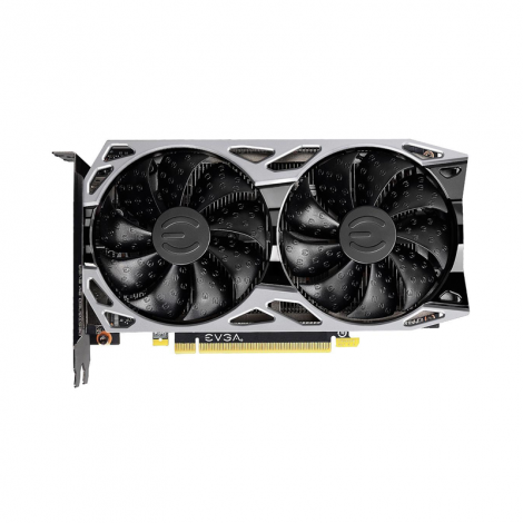 EVGA RTX 2060 6GB KO Gaming Dual Fan 06G-P4-2066-KR Tarjeta de Video FRONTAL