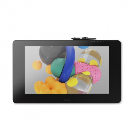Wacom Cintiq Pro 24 Touch DTH2420K0 Negra Tabla Digitalizadora con Pantalla frontal