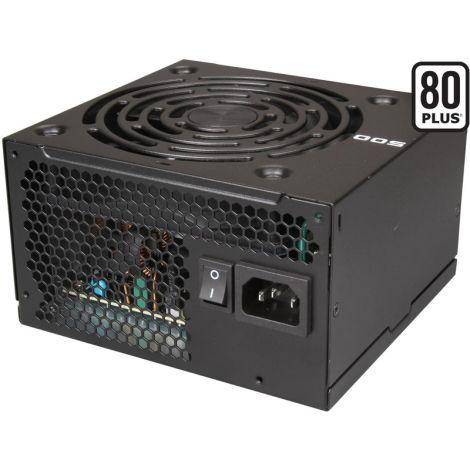 EVGA 500W 80 Plus White 100-W1-500-KR Fuente de poder diagonal