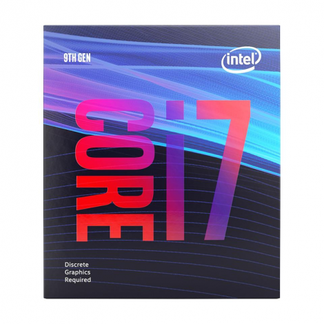 Intel Core i7 9700F 8 Core 3.0 GHz (4.7 GHz Turbo) Procesador frontal