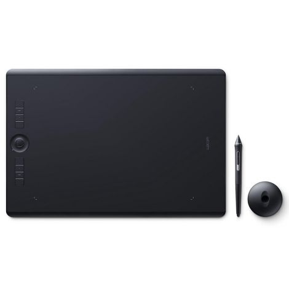 Wacom Intuos Pro PTH860 Grande Negro Tabla Digitalizadora frontal