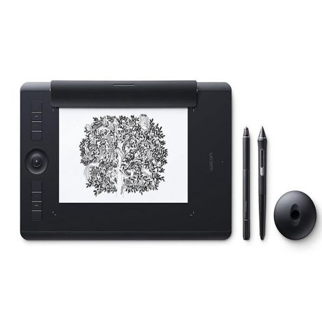 Wacom Intuos Pro Paper Edition Mediana PTH660P Tabla Digitalizadora frontal