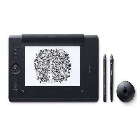 Wacom Intuos Pro Paper Edition Mediana PTH660P Tabla Digitalizadora frontal