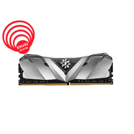 ADATA XPG 8GB DDR4 3000Mhz GAMMIX D30 AX4U300038G16A-SB30 negro Memoria RAM