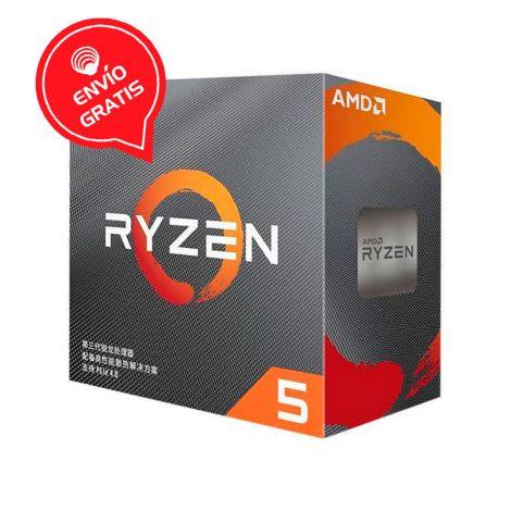 AMD Ryzen 5 3500X 3.6GHz (4.1 GHz Turbo) 6 Core 100-100000158CBX Procesador empaque