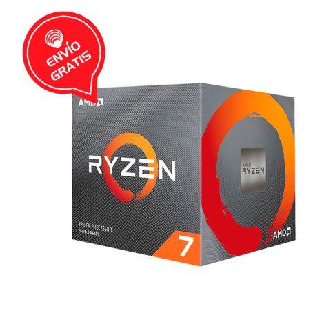 AMD Ryzen 7 3700X  3.6GHz (4.4GHz Turbo)  8 Core 100-100000071BOX Procesador diagonal