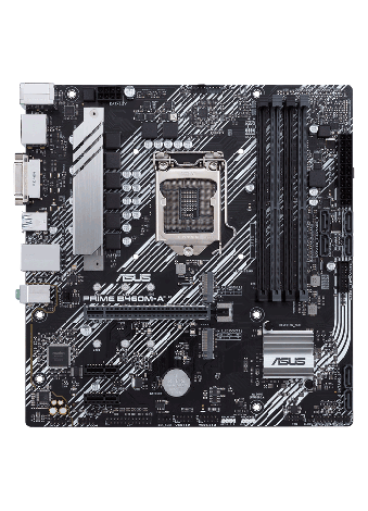 ASUS PRIME B460M-A INTEL 128GB Matx Board Frontal