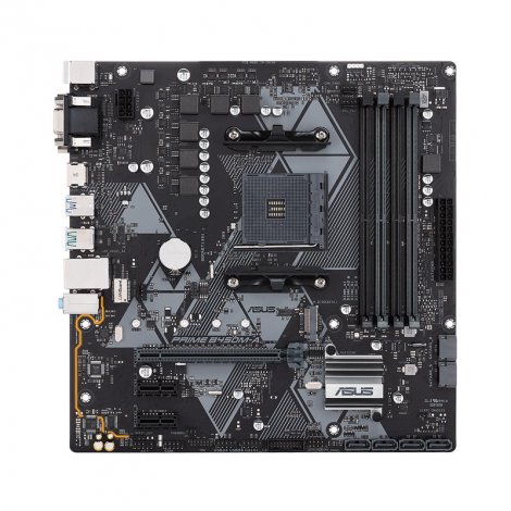 ASUS Prime B450M-A RGB AM4 AMD Matx Board FRONTAL