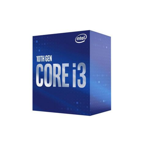 Intel Core i3 10100 3.6 GHz (4.3 GHz Turbo) 4 Core Intel UHD Grafico 630 BX8070110100 Comet Lake Procesador diagonal