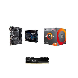 COMBO BOARD ASUS B450M-A PRIME / PROCESADOR AMD RYZEN 3400G / 8GB DDR4 3000MHZ DISIPADA*