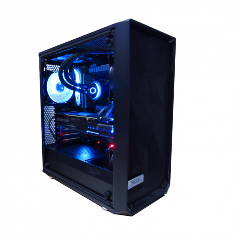 COMETWARE HALLEY DSCI99900XOX299 Intel Core I9 9900X 3.5GHz 32GB DDR4 3TB + M.2. 1TB RTX 2080 Ti 11GB  diagonal