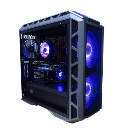 WOLF Signus GSCI79700KFJB360 Core i7 9700KF 3.6GHz  16GB DDR4 1TB + SSD 240GB RTX 2070 8GB PC diagonal