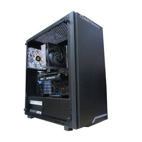 HALLEY Vega DSCI79700IKFJZ390 Core I7 9700X 3.6GHz 16GB DDR4 1TB + SSD. 240GB GTX 1660 6GB PC diagonal sin tapa