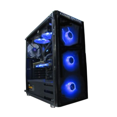 HALLEY Vega DSRZ73800XJB450 Ryzen 7 3800X 3.9GHz 16GB DDR4 1TB + SSD. 500GB RTX 2060 8GB PC diagonal sin tapa