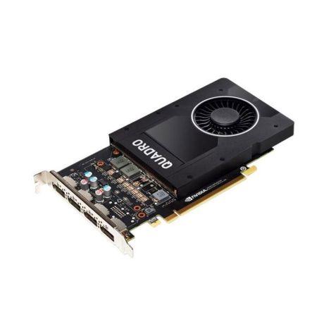 PNY Quadro P2200 5Gb GDDR5X 160 Bit VCQP2200-BLK Tarjeta de Video DIAGONAL