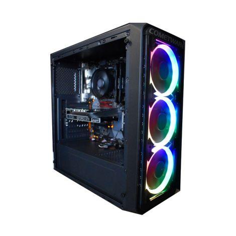 COMETWARE HALLEY Antares DSRZ53600JB450 Ryzen 5 3600 3.6GHz 16GB DDR4 1TB + SSD 240GB RX550XT 8GB* diagonal