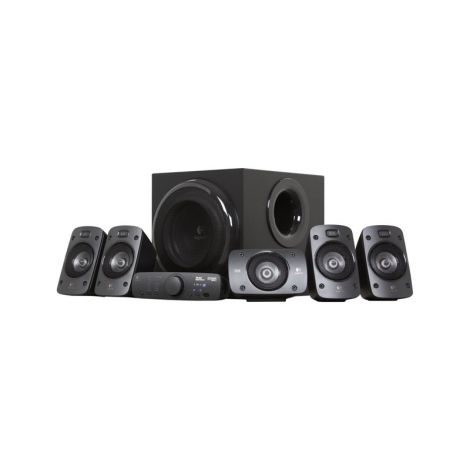 Logitech Z906 5.1 Sonido Surround 500W 980-000467 Parlantes diagonal